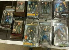"9 NECA 7"" NEW Action Figures PACIFIC RIM BLADE RUNNER PROMETHEUS HEROES STORM"