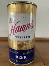 """Hamms Beer Flat Top Can """"Preferred� Strong Beer St. Paul, Mn"""