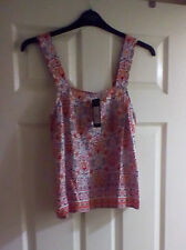 New Look Women's Viscose Vest Top, Strappy, Cami Tops & Shirts