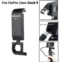 ULANZI Chargeable Battery Lid Door Cover Removable G8-7 for GoPro Hero Black 8