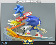 "SONIC THE HEDGEHOG - Sonic Generations 12"" Diorama Statue (First 4 Figures) #NEW"