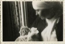 PHOTO ANCIENNE - VINTAGE SNAPSHOT - ENFANT BÉBÉ NAISSANCE INFIRMIÈRE FLOU - BABY