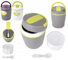 1.2L THERMAL FOOD CONTAINER WITH CONTAINER INSIDE SPOON LUNCH BOX SOUP HANDLE