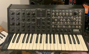 Korg MS-20 original semi-modular sythesizer