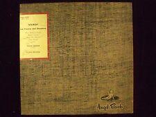 VERDI: LA FORZA DEL DESTINO, Tullio Serafin, Conducting; Angel 35201 Sides 3 & 4