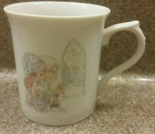 Precious Moments Month Of April Ceramic Cup Easter 1986 Sam Butcher