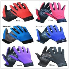 Outdoor Sports Cycling Climbing Ride Mesh Anti-Slip Thickened Full Finger Gloves