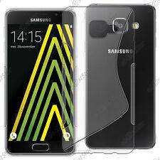 Housse Etui Coque Silicone S-line Transparent Samsung Galaxy A5 2016 A510F