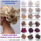 Luxury High Volume, Extra Large Scrunchie, Superior Quality Synthetic Hair (A9)