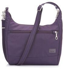 pacsafe Citysafe CS100 Umhängetasche Tasche Mulberry Violett Neu