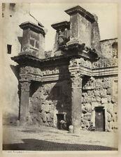 Photo Rome Roma Tirage Albuminé Original Italie Italia Vers 1865/70