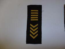 b1082 WW2 US General George S Patton Jr's Overseas Stripes Bullion R8C