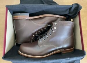 NIB Wolverine Original 1000 Mile Boots BROWN W05301 Size 11.5 D MADE IN USA F1st