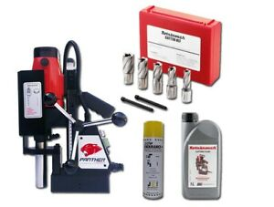 Rotabroach Panther MagDrill Kit 1 -  7 Piece Cutter Kit & Lubricants 240v