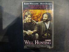 K7 - VHS - WILL HUNTING - Robin WILLIAMS - MATT DAMON - 1997 - Français - PAL