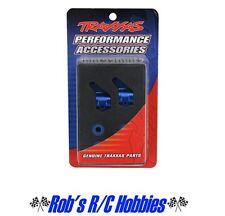 Traxxas 3636A Blue Aluminum Steering Blocks Slash Rustler Stampede Bandit