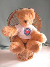 Vermont Teddy Bear Friend for Life Plush Stuffed Animal 9.5 ins Sitting up Brown