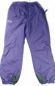 Columbia Sportswear Women's Ski Snowboard Pants, Purple Size M
