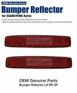 OEM Parts Rear Bumper Reflector Assembly LH RH for SSANGYONG 2005 - 2006 Kyron