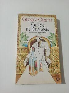 Giorni In Birmania George Orwell