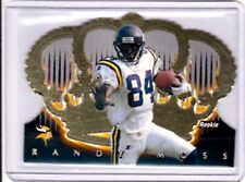 Randy Moss RC 1998 Pacific Crown Royale Die-Cut Rookie Card#75 GEM Mint?Vikings