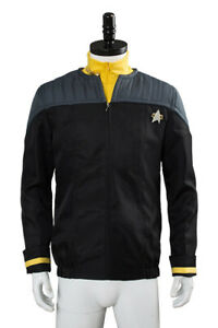 Star Trek NEM Duty Uniform Halloween Cosplay Costume Nemesis Jacket+shirt+badge