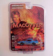 Greenlight Hollywood 1/64  MacGyver  1987 Pontiac Firebird