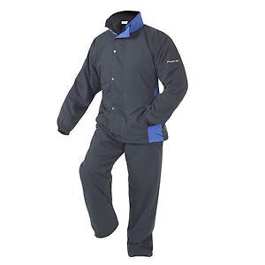 POWERBILT NIMBUS Men's Golf Waterproof Suit Black  - Stay Dry Play Well!