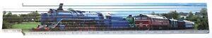 Eisenbahn Bahn Lok Modelle Motiv 1 Zollstock Meterstab Buchenholz 2 m Z033