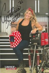 2019 Cynthina Gauthier signed Lincoln Monster Mutt Monster Truck SEMA Hero Card