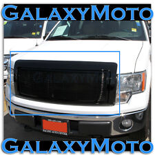 09-14 Ford F150 Black Billet Front Grille+Complete Direct Replacement Shell