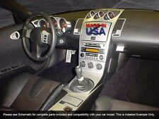DASH TRIM PREMIUM KIT 25 PCS FITS NISSAN 350 Z 2003-2005 W/MANU TRAN nis350-03d