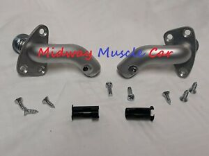 convertible sun visor support bracket (pr) Chevy GTO Camaro Chevelle 442 GS