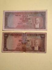 Turkiye Cumhuriyeti Banknotes L.1930- 5-Emisyon 4- Tertip 50-Lira Mavi Renk