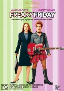 FREAKY FRIDAY (DVD, 2004)  Jamie Lee Curtis / Lindsay Lohan / Mark Harmon / R4