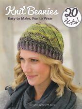 Knit Beanies: Easy to Make, Fun to Wear 20 Hats, Karen M Burns (Paperback) Book