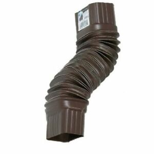 AMERIMAX HOME PRODUCTS 3708419 2x3 Flex Elbow, Brown
