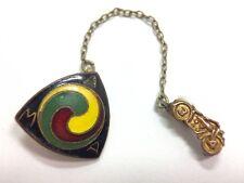 Rare Vintage AMA Gypsy Tour American Motorcycle Association Club Member Pin B...