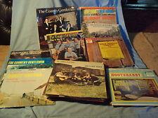 21 vinyl COUNTRY GENTLEMEN 33rpm RECORDS signed 1969 REBEL VANGUARD VG++ COLLECT