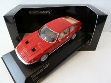 Maserati Indy 1970  Red 1/43 Minichamps