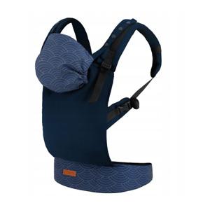 Ergonomic Baby Carrier Adjustable Back Front Infant Backpack + Hood Waist Belt