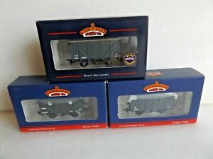 3 x  BACHMANN GW WAGONS ALL LISTED   BOXED OO GAUGE