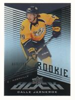 2014-15 UD Black Hockey #47 Calle Jarnkrok RC 069/199 Nashville Predators