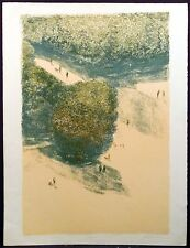 "Harold Altman ""Jardin"" Hand Signed Original Art Lithograph France Submit Offer"