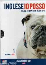 DVD+CD+BOOK=INGLESE IO POSSO=FACILE.INTERATTIVO.DEFINITIVO=VOLUME PRIMO