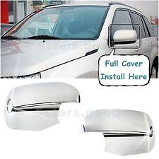 Accessories Pair Chrome Side Mirror Covers For 2006-2013 Suzuki Grand Vitara
