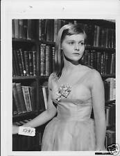 Carol Lynley busty VINTAGE Photo Blue Denim