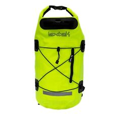 Lextek Waterproof Dry Bag Yellow Backpack 30L Motorcycle Bike Scooter Rucksack
