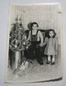FOTOGRAFIA ANTIGUA, NIÑAS EN NAVIDAD, FOTO SAN MIGUEL, PALENCIA AÑOS 70