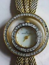 Ann Klein Crystal-Enhanced Ladies Quartz Fashion Watch: 10/7674